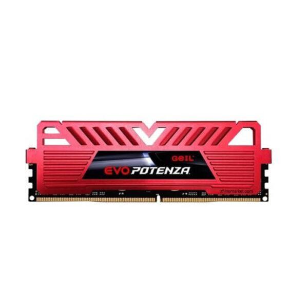 رم دسکتاپ DDR4 تک کاناله 3000 مگاهرتز گیل مدل Potenza ظرفیت 8 گیگابایت