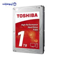 هارد دیسک اینترنال توشیبا مدل P300 HDWD110EZSTA ظرفیت 1 ترابایت