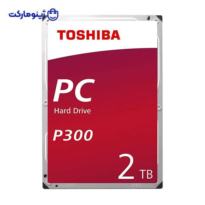 هارد دیسک اینترنال توشیبا مدل P300 HDWD120EZSTA ظرفیت 2 ترابایت
