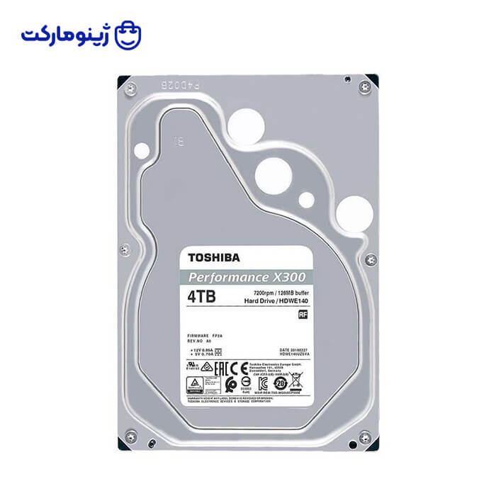 Toshiba X300 HDWE140 Internal Hard Drive 4TB