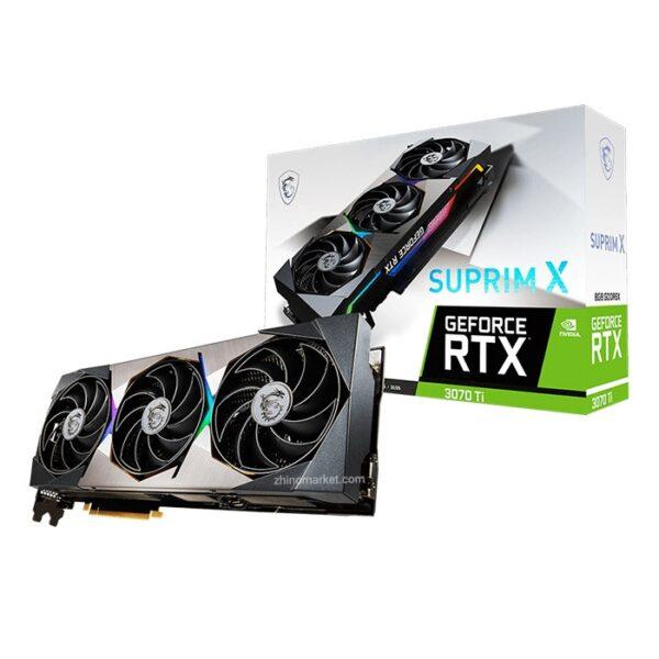 کارت گرافیک Msi GeForce RTX 3070 Ti Suprim X 8G