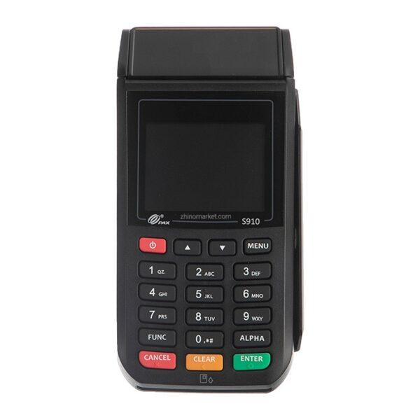 پایانه فروش ( کارت خوان ) سیار مدل پکس S910